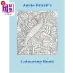 【中商海外直订】Aggie Brazil's Colouring Book