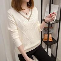 秋冬季女装毛衣针织衫套头短款韩版宽松学生打底衫长袖上衣女