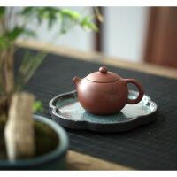 宜兴紫砂壶茶具茶壶套装全手工底槽清斗茶小西施壶初见 刻绘款