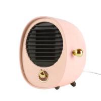 微型电暖器 暖风机迷你家用办公室小型取暖器智能省电学生宿舍桌面小功率热风机暖脚 BX (公主粉)迷你