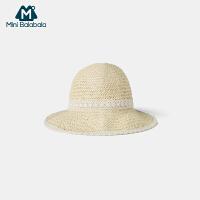 【99元任选3件:33元】迷你巴拉巴拉儿童帽子2020夏装新款女童透气舒适便携可调节套头帽