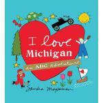 【预订】I Love Michigan: An ABC Adventure