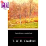 【中商海外直订】English Songs and Ballads