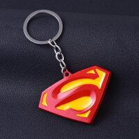 钥匙扣汽车钥匙挂件钢铁蝙蝠侠金属钥匙链小礼物