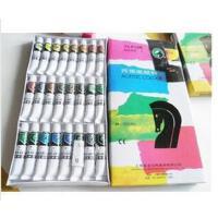 马利24色丙烯颜料 824丙烯颜料 手绘 墙绘颜料 DIY手绘颜料