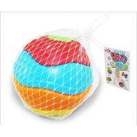 婴儿手抓球宝宝扣洞玩具 0-1岁早教宝宝3-6-9-12个月婴儿手抓球扣洞抠洞摇铃学爬玩具 百变手抓球