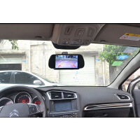 7寸车载显示器/汽车后视镜显示屏/车载DVD显示器/摄像头