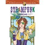 Creative Haven Steampunk Designs Coloring Book