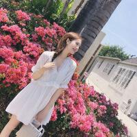 普吉岛沙滩裙女夏泰国巴厘岛波西米亚短裙海边度假超仙显瘦连衣裙