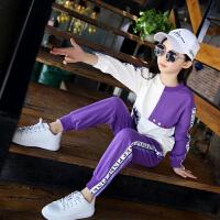 2018新款女童套装秋季韩版儿童秋装女中大童潮衣洋气时髦两件套