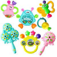婴儿玩具3-6-12个月新生儿摇铃 0-1岁宝宝早教幼儿手摇铃牙胶