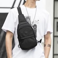 男士胸包韩版潮户外运动单肩包男包包休闲斜挎包小背包个性多功能