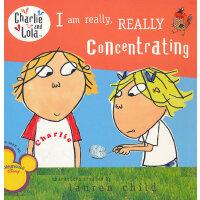 I Am Really, Really Concentrating 查理与劳拉:我真的真的用心了 9780448449