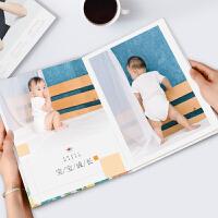 相册定制 纪念相册制作宝宝纪念照片书定制宝宝儿童成长对裱纪念册 其它 28以上