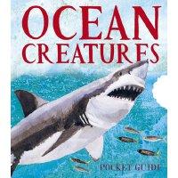 英文原版 小开本全景立体书:海洋生物 Ocean Creatures: A 3D Pocket Guide