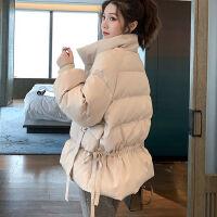 棉服女2020�W�t新款面包服�W生�n版��松棉衣女短款冬季外套