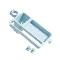 免打孔水龙头置物架家用抹布沥水架 厨房水槽多功能收纳架