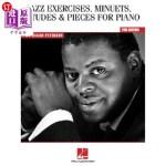 【中商海外直订】Oscar Peterson - Jazz Exercises, Minuets, Etudes &