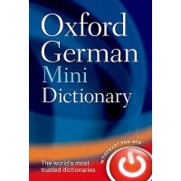 英文原版 牛津迷你德语词典 Oxford German Mini Dictionary