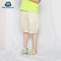 【2件4折】迷你巴拉巴拉男女童纯棉短裤宝宝裤子2020夏季韩版潮酷透气工装裤