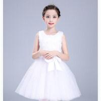 儿童演出服公主裙小主持人蓬蓬裙服装活动礼服女童连衣裙女孩