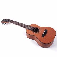 u克里里 单板尤克里里女初学者儿童学生小吉他26/23寸乌克丽丽 26寸桃花芯(单板)高配