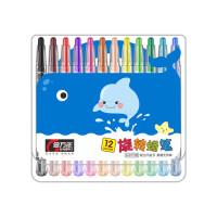 金万年01700(12色)/ 01720(24色)蜡笔 旋转画笔 儿童绘画笔