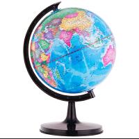 茂才地球仪高清中小学生小号世界地理教学儿童书房摆件直径10.6cm 当当自营