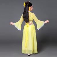 六一儿童女孩古装唐装仙女装表演服古代公主古筝汉服服装