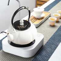 自�由纤��陶�t煮茶家用小茶�t抽水煮茶器小型迷你�磁�t泡茶套�b