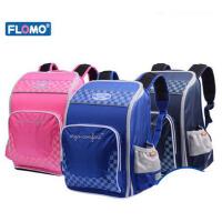 Flomo富乐梦人因护脊书包儿童双肩减负包小学生男女1-3年级CL-201
