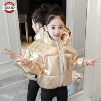 儿童冬装棉衣2018新款韩版冬季中长款洋气外套女孩加厚