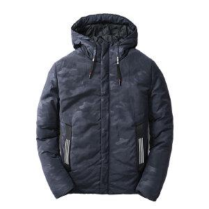 男士外套冬季2018新款韩版潮流秋冬帅气短款加厚时尚保暖男款棉衣