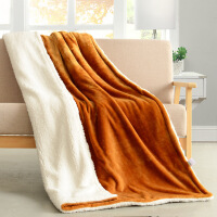 加厚双层毛毯冬季法兰绒厚毛绒毯单人双人空调被盖毯