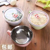 孕妇专用碗套装创意泡面碗带盖大号学生碗汤碗日式餐具饭盒方便面