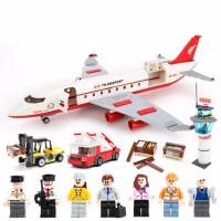 航天航空兼容积木 飞机火箭模型拼装6-8-12岁男孩子 儿童玩具