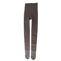 秋冬加厚加绒奶咖连裤袜显瘦竖条纹保暖浅驼棕色咖啡色打底袜子女