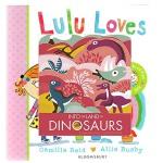 英文原版 Into The Land Of Dinosaurs 恐龙 造型纸板书 图画故事书