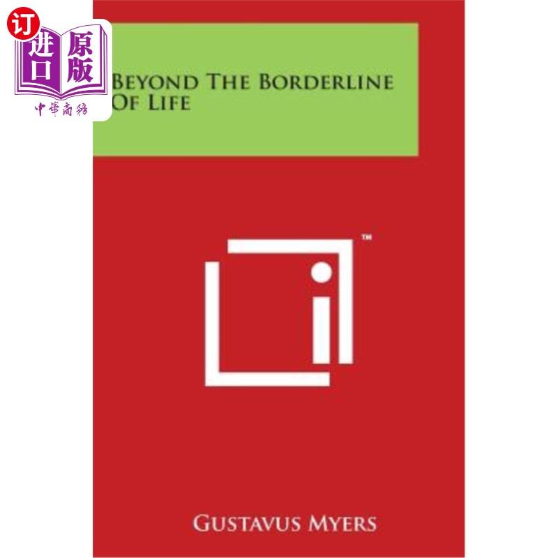 【中商海外直订】Beyond the Borderline of Life