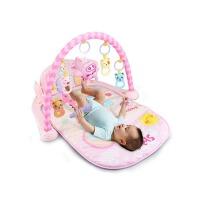 婴儿宝宝音乐游戏毯玩具脚踏钢琴婴儿健身架器 0-1岁3-6-12个月