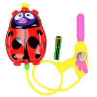 式呲水枪儿童3-6岁男孩戏水滋玩具喷水背水喷射水抢女孩春节新年礼物 标准配置