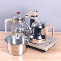 A 全自动上水电茶炉玻璃电热烧水壶家用抽水式功夫茶具套装电磁炉