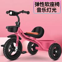 儿童三轮车1-3-2-6岁宝宝手推车脚踏车自行车童车玩具