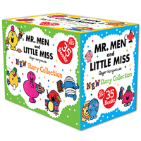 奇先生妙小姐35册套装Mr Men & Little Miss 35-copy Complete Set ISBN97