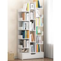 【限时领券抢购】书架简易桌面置物架组合书柜简约现代桌上架子学生创意柜子