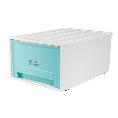 收纳柜抽屉式内衣衣服整理柜收纳盒储物箱大号塑料宝宝儿童  特