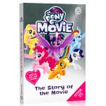 小马宝莉大电影原著故事书 英文原版 The Story of the Movie My Little Pony 6-9