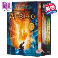 【中商原版】阿波罗的审判3本套装 英文原版 The Trials of Apollo 3-Book Boxed Set