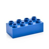 宝贝() 儿童玩具兼容乐高大颗粒积木配件 基础颗粒拼装拼插配件塑料积抖
