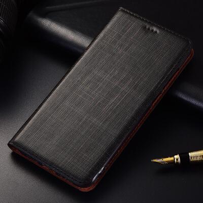 三星s8手机壳s8+plus真皮皮套S7 Edge保护套防摔g9300手机套双十 三星S8 双十纹黑色【翻盖】